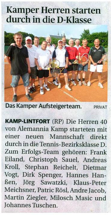 Rheinische Post 01.08.2014