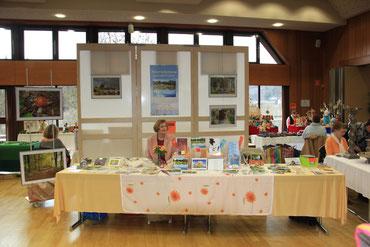 Hobby-Künstler-Ausstellung in Villmar 2015 (Foto © Detlef Fachinger)