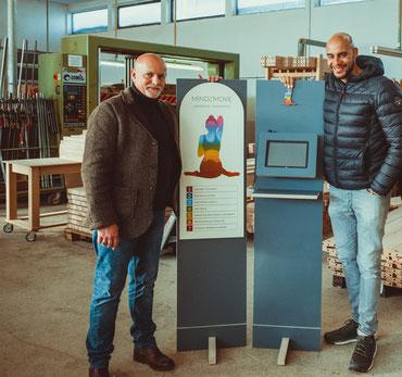 Die MINDZMOVE-Gründer Thomas Hoffmann und Malik Sylvester Arrendell