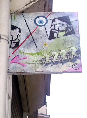 graff, enseigne, romain chauvet, paris