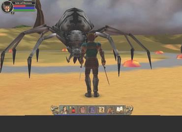 AGONY SPIDER