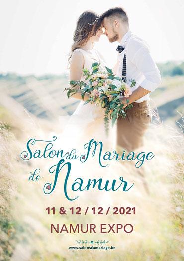 Salon du Mariage de Namur 11 et 12 Décembre 2021