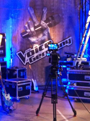 Backstage bei The Voice! 2 Minuten vor dem Auftritt!