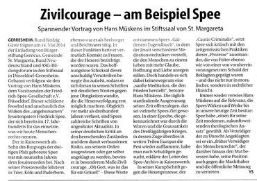 21.05.2014, Rheinbote