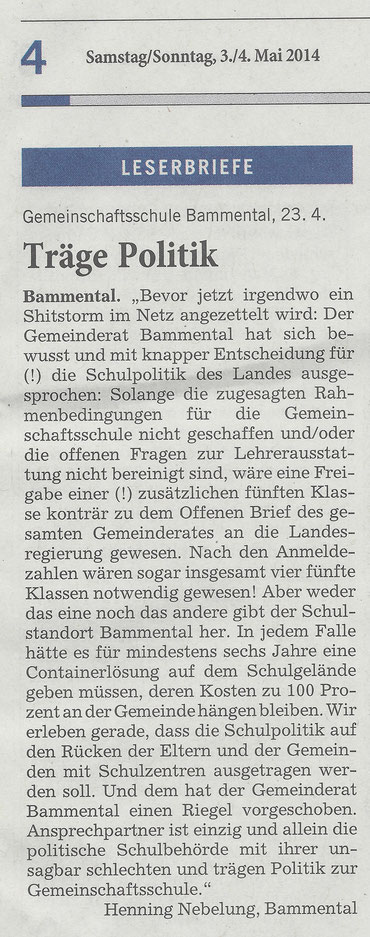Quelle: Rhein-Neckar-Zeitung, 03.05.2014