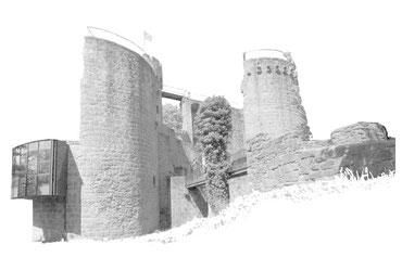 Ausflugstipp der Familie Barth: Burg Montclair
