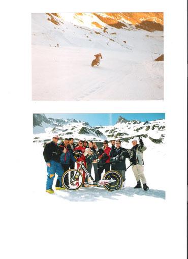 Record du monde de vitesse sur neige sur TF1
