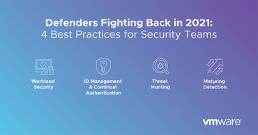VMWare 4 Best Practices for Security Teams