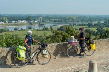 La Loire à Vélo à St Florent le Vieil, photo Dominique Drouet