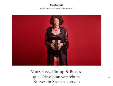 Interview mit der bekannten Pin-Up-Fotografin Yvonne Sophie Thöne auf PlusPerfekt