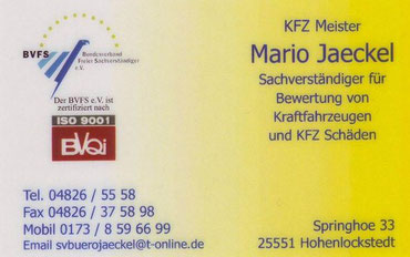 KFZ-Sachverständiger und Gutachter erstellen Schadengutachten