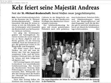 Dürener Zeitung 09.07.2010