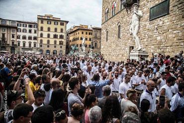 15/06/2015 Calcio Storico Fiorentino on La Repubblica