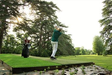 Practice de Golf et Green d'approche  au Château de Poudenas