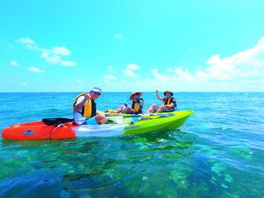 沖縄の美ら海も楽しもう