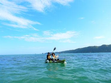 マングローブと海を楽しめる