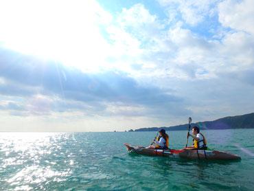 東村の海は人工物ゼロの絶景