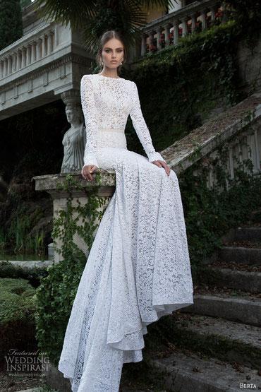 Vestido by Berta Brides