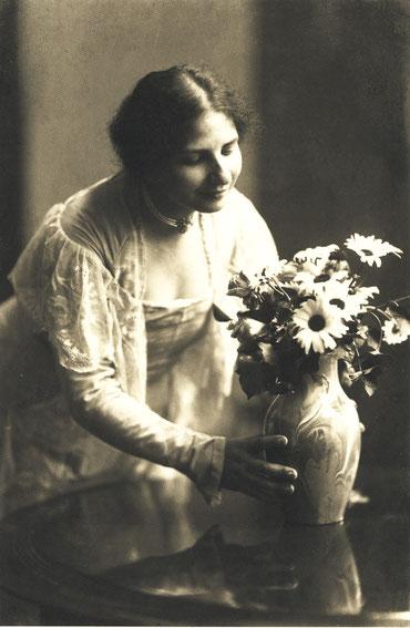 Ida Dehmel 1916, Foto: Jacob Hilsdorf