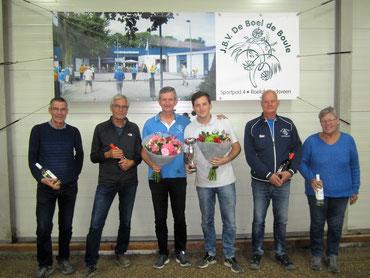 Dirk en Jan Mulder                                        René en Ruud Vork                                             Ger en Agnes van Klink
