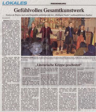 Donaukurier Riedenburg vom 11.12.2013