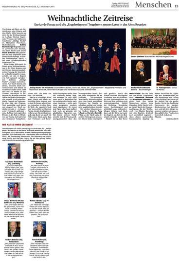 Merkur Gesamtausgabe vom 6.12.2014