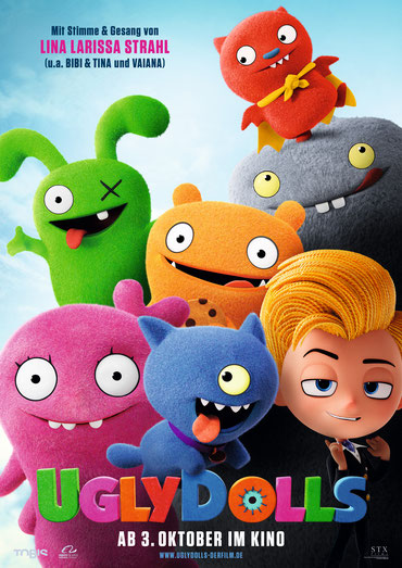 Ugly Dolls Plakat