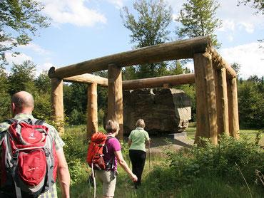 Wandern auf dem WaldSkulpturenWeg zwischen dem Sauerland und Wittgenstein