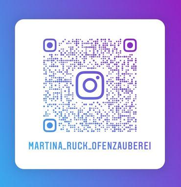 Instagram QR Code für Ofenzauberei Martina Ruck