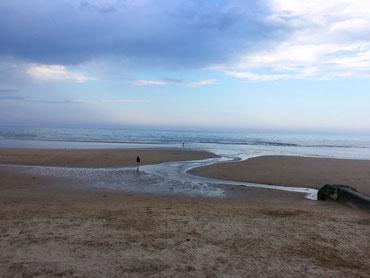 Omaha Beach Spiaggia sbarco in Normandia Francia