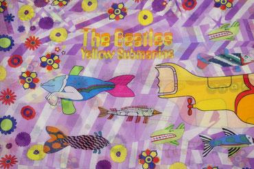 Kinderloop lila Yellow Submarine