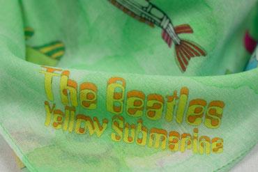 Nickituch Yellow Submarine, grün