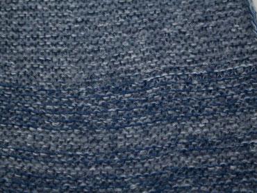 Melierter Schal blau-grau