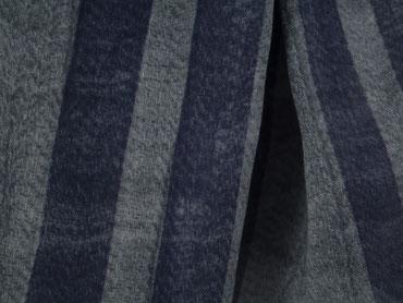 Herrenschal graublaue Streifen