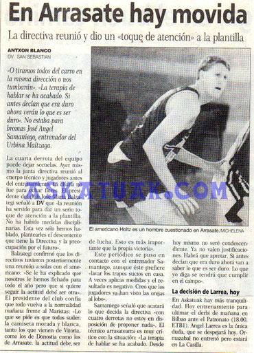 13 octubre 1995: