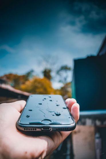 Handy mit Wasserschaden
