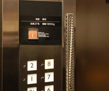 エレベーター空間を極上の香りでグレードアップします。