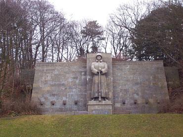 Das Kriegerdenkmal heute