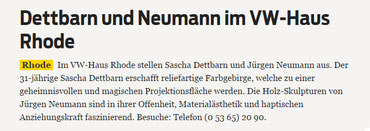 Braunschweiger Zeitung 16.05.2014