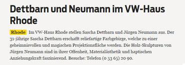 Braunschweiger Zeitung 16.05.2014