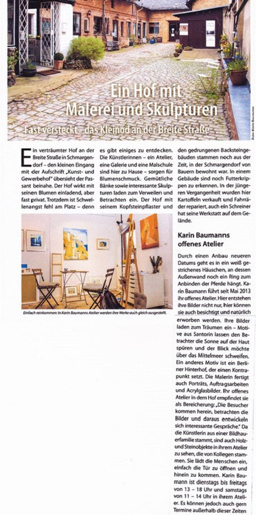 Artikel Dahlem & Grunewald