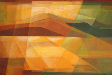 Im Licht, Acryl auf Leinwand, 70 x 90 cm, 2015