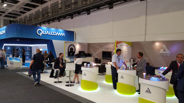 AWox et Qualcomm - Stand IFA Berlin