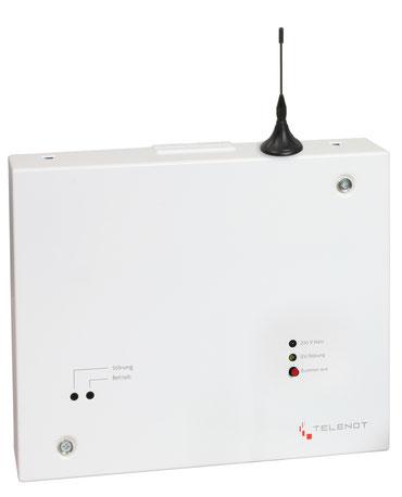 SafeTech Telenot comxline 2516(GSM) im Gehäuse mit Netzteil