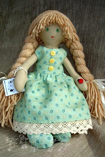 текстильная кукла Верочка