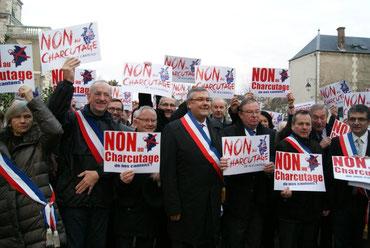 MM Vinçon, de Germay, Pointereau...devant le CG18 le 10 jan 2014