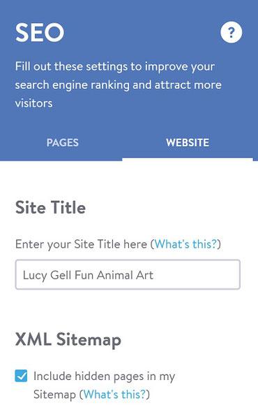 seo search engine optimisation meta title description art craft photography