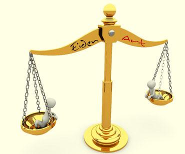 Die Goldwaage, ein wichtiges Utensil bei EidenArt. Bildquelle: pixabay