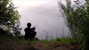Camp pêche - pêche au leurre - pêche à la canne chinoise - erabuna - moniteur guide de pêche - guide de pêche Corrèze - plateau de Millevaches