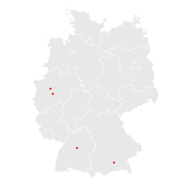 China Visa Service Deutschland Standorte